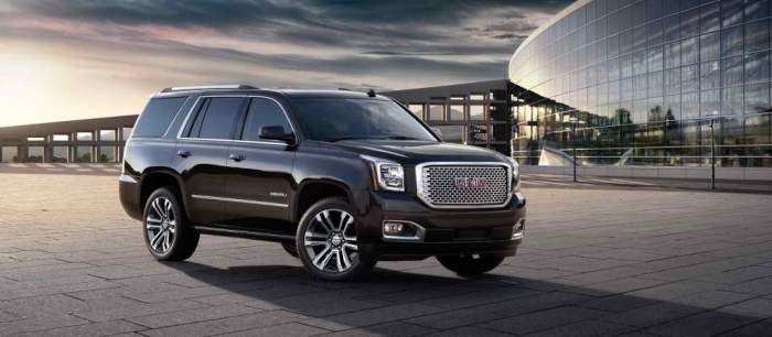 The 2017 Gmc Yukon Denali Model Will Be Replacing The Existing