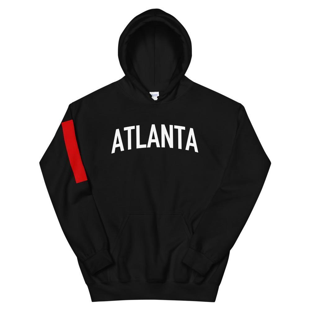 Atlanta Black Hoodie – M