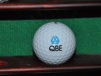 Qbe Insurance Logo Golf Ball Titleist Nxt Tour Excellent Golf