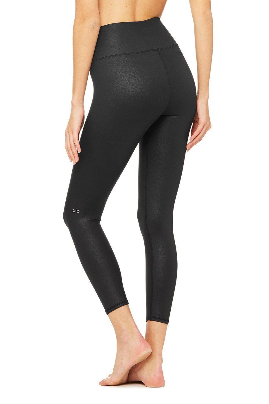 78447d786d51d 7/8 High-Waist Airbrush Legging | sweat | 4 way stretch fabric ...