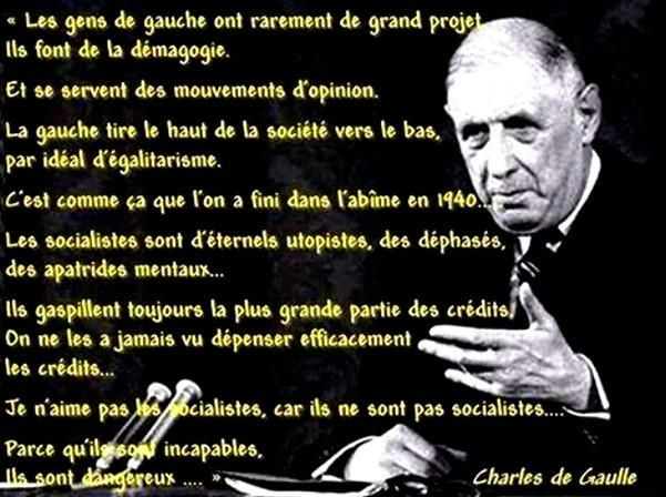Charles De Gaulle Citations Politiques Citation De Gaulle Citation Politique
