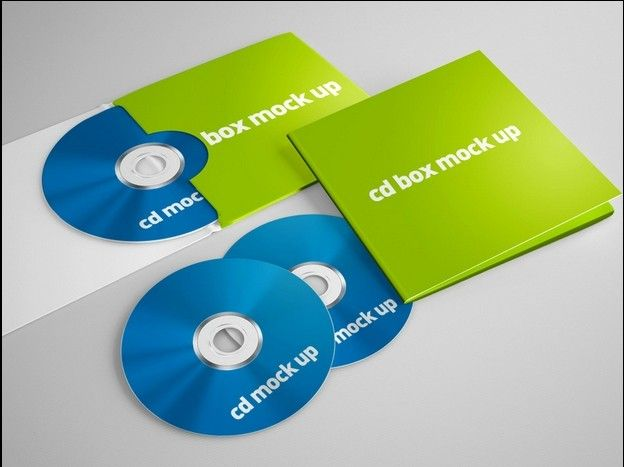 Print Template:CD Box,Presentation Folder Mock ups | http://www ...
