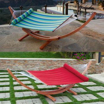 costco  big daddy deluxe sunbrella arc wood hammock costco  big daddy deluxe sunbrella arc wood hammock   its a choice      rh   pinterest