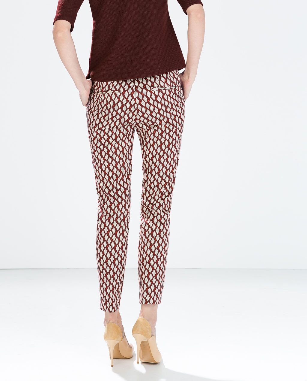 204510b1 GEOMETRIC PRINT TROUSERS from Zara in my wardrobe :) | Have it ...