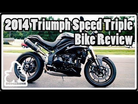 2014 Triumph Speed Triple ABS - Bike Review