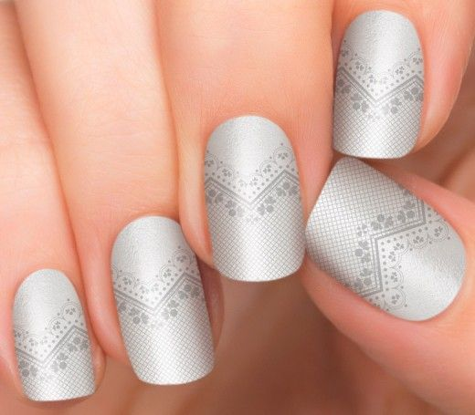 Incoco - Delicately Put Nail Stickers. 16 stickers in different sizes brand  new and sealed