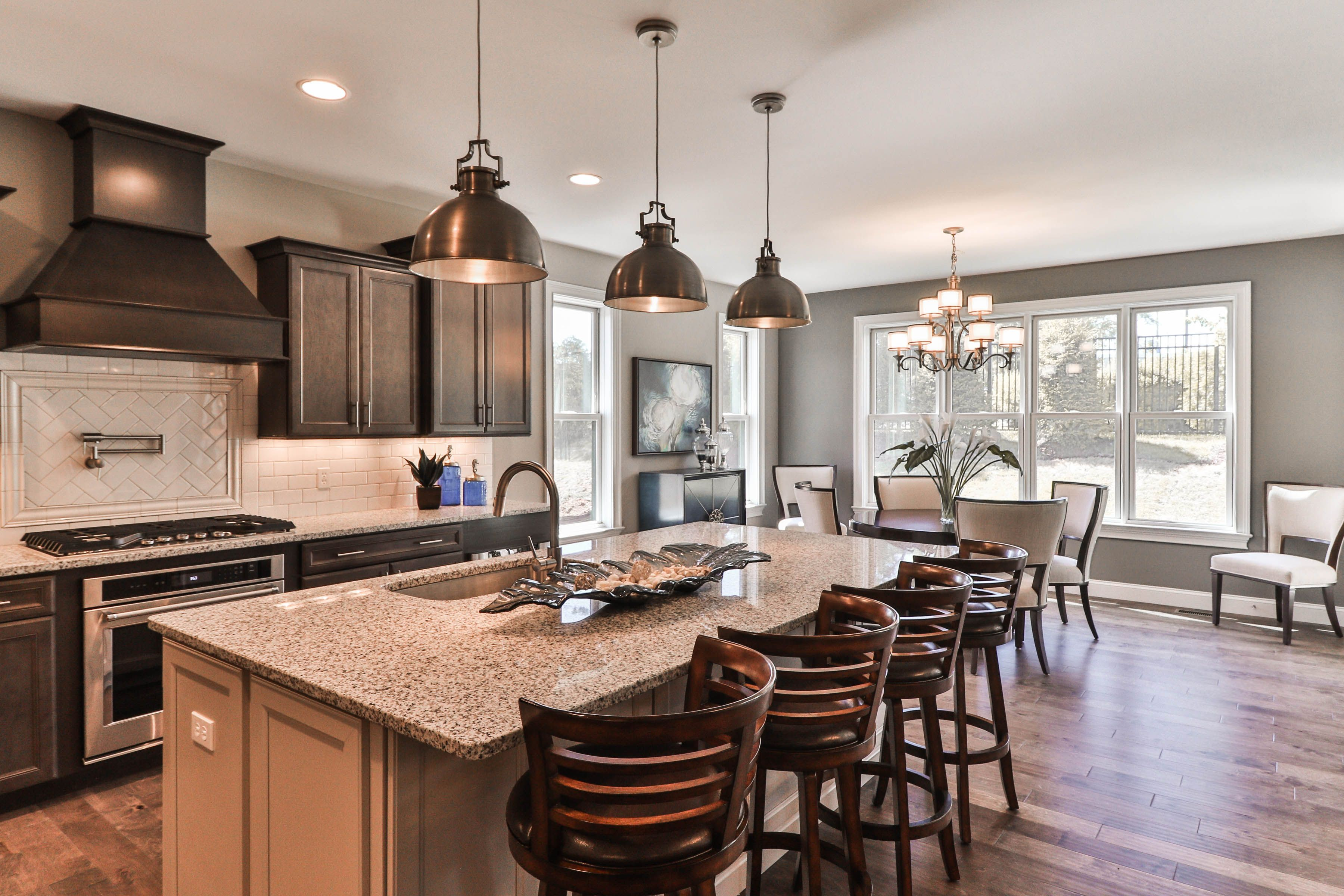 Kitchen Island New Home Builders Building A House New Home Construction