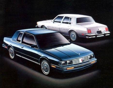 Olds Ciera 2 Door And 4 Door Cutlass Supreme Autos