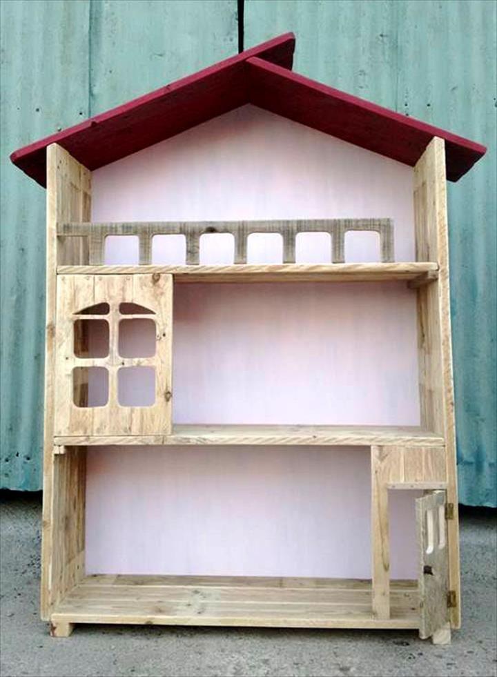 Upcycled Pallet Doll House Design Ideas Hogar Pinterest Ideas