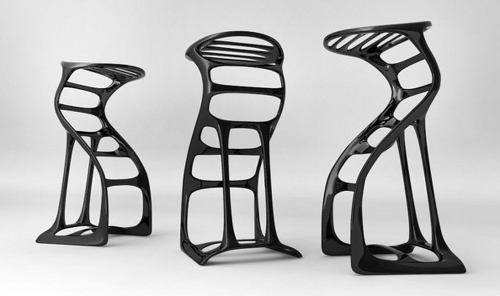 Unique Bar Chairs #39 - Stools Which Include Different Styles, Patterns, Colors And Types Of Wood.  Here Is Our Latest Collection Of 14 Amazing Bar Stool Design Ideas For You  To Get ...