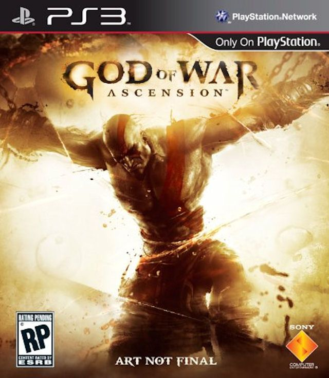 Kết quả hình ảnh cho God of War Ascension™ cover ps3