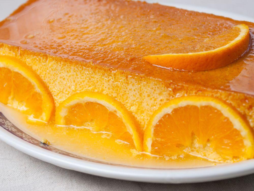 Flan De Naranja Receta Flan De Naranja Flanes Recetas Recetas De Cocina
