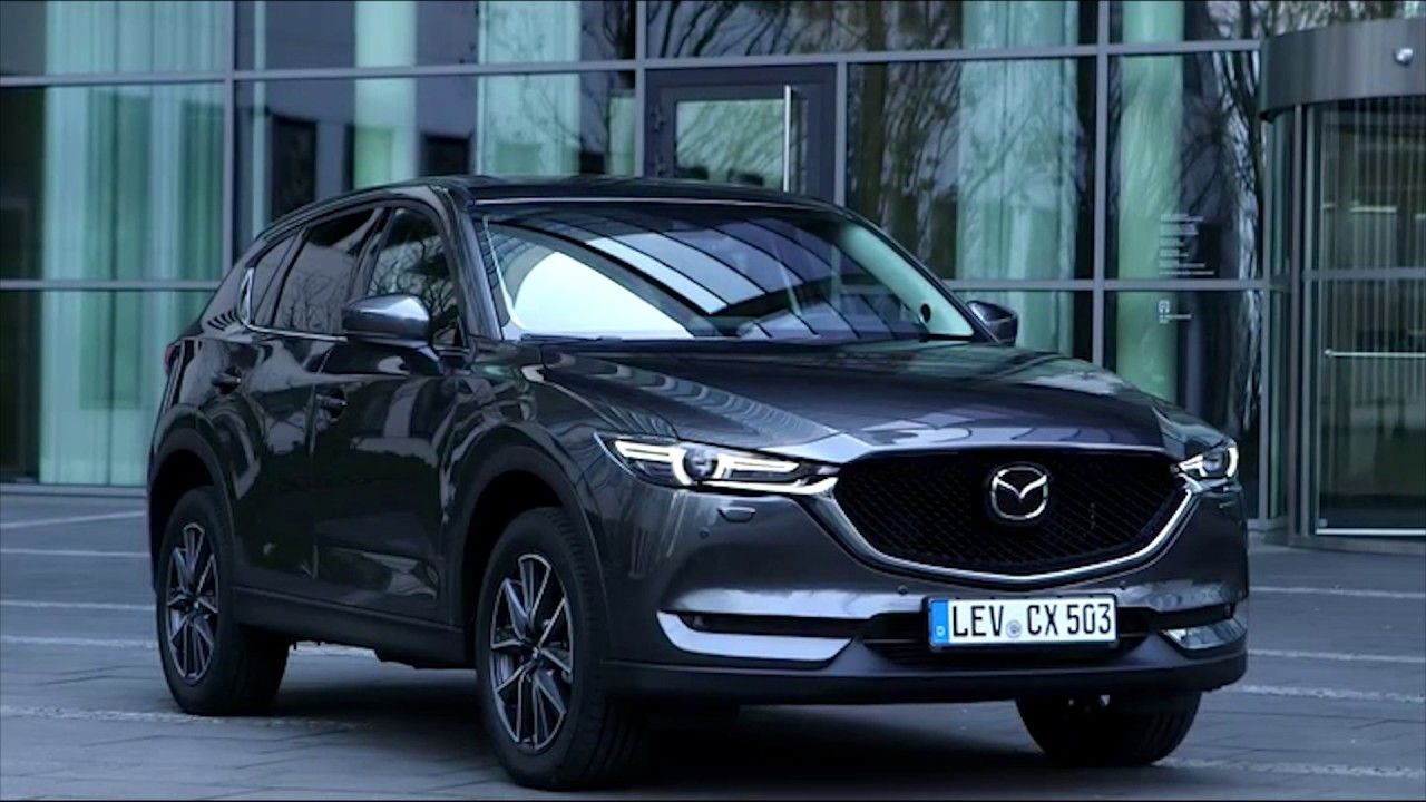 All New Mazda Cx 5 Exterior Design In Machine Grey Automototv Mazda Grey Car Mazda Cx5