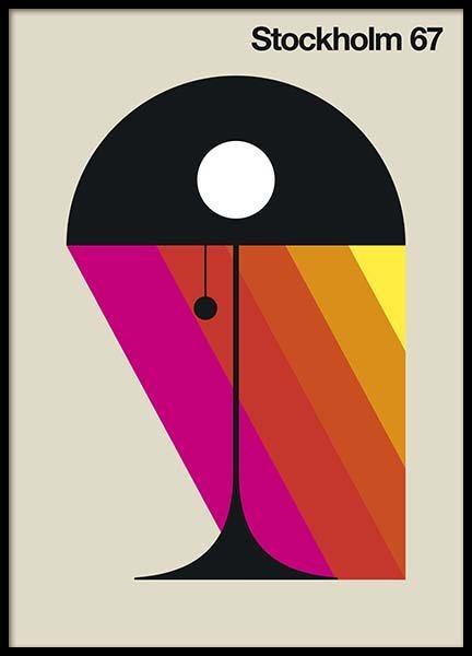 grafisk design poster