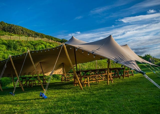 Unique tent hire covering Cornwall and Devon. Stretch tents canvas structures and bell tents & Blog in 2019 | Stretch Tents | Tent hire Tent Camping tent rentals