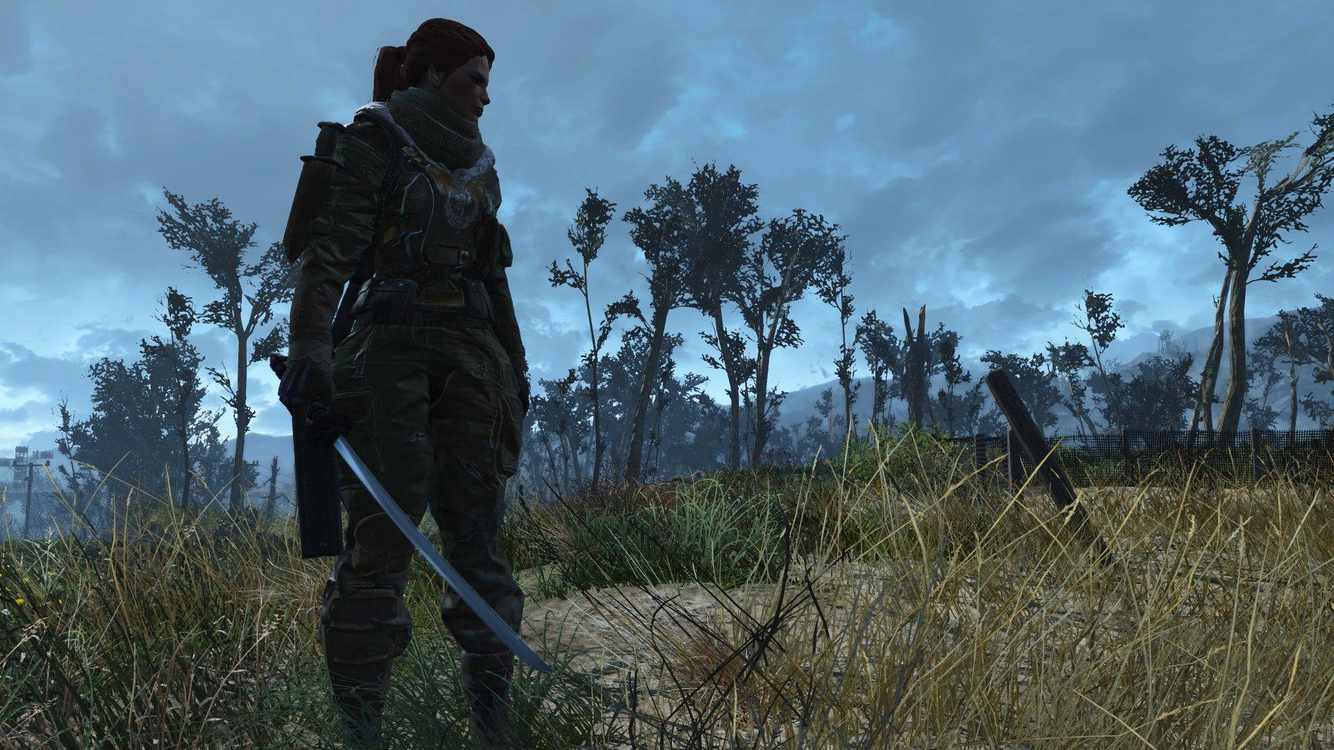 I like Cait better as a wasteland samurai #Fallout4 #gaming #Fallout