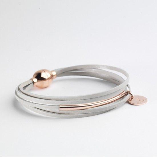 Bracelet multiliens mini et argent