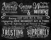 ChalkTypography  - The Serenity Prayer (full version)
