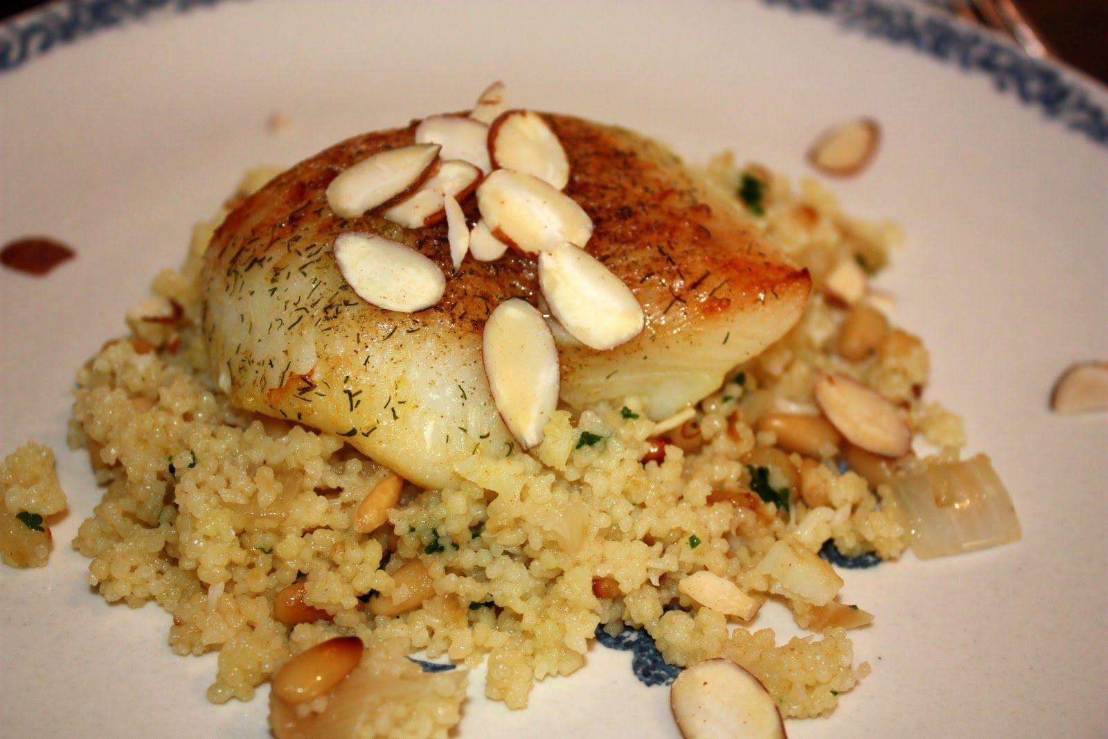 Broiled Halibut Amandine | Roasted garlic, Seafood ...