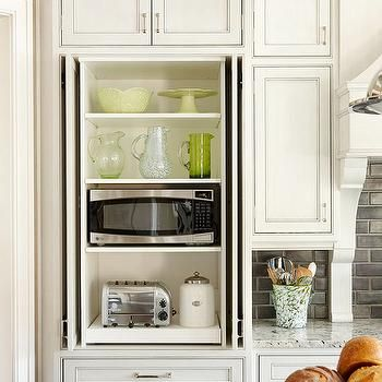 Hidden Microwave Cabinet Transitional Kitchen Bhg  Kitchen Gorgeous Bhg Kitchen Design Review