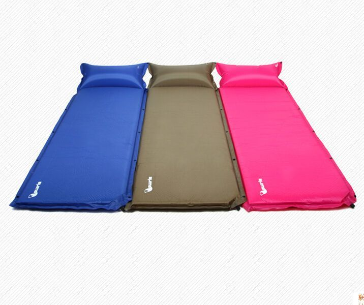 camp mats deluxe mat super self black inflating wolf