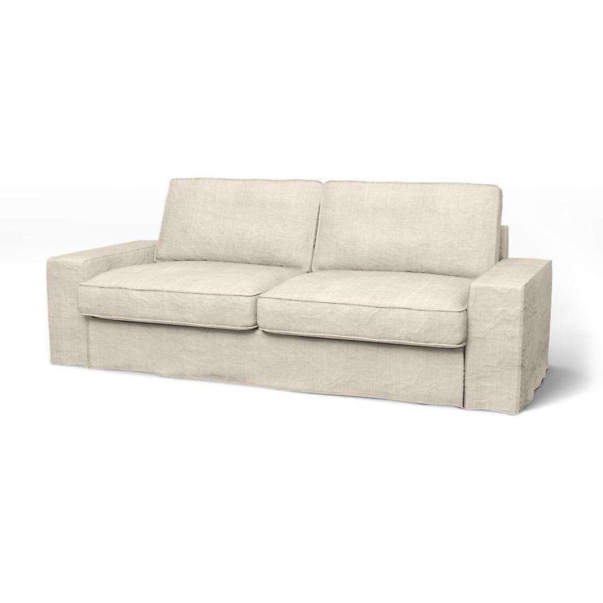 Magnificent Kivik 3 Seater Sofa Cover Loose Fit Tv Room Sofa Covers Creativecarmelina Interior Chair Design Creativecarmelinacom