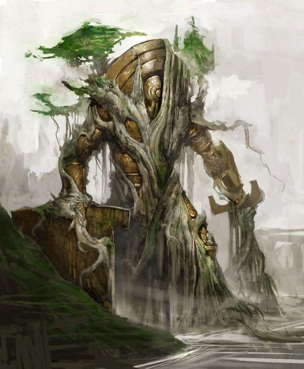 Tree Golem Google Search Guild Wars Art Fantasy Illustration