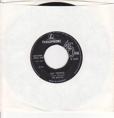 """Beatles / Day Tripper / We Can Work It Out / Import 7"""" Vinyl 45 / Parlophone 5389"""