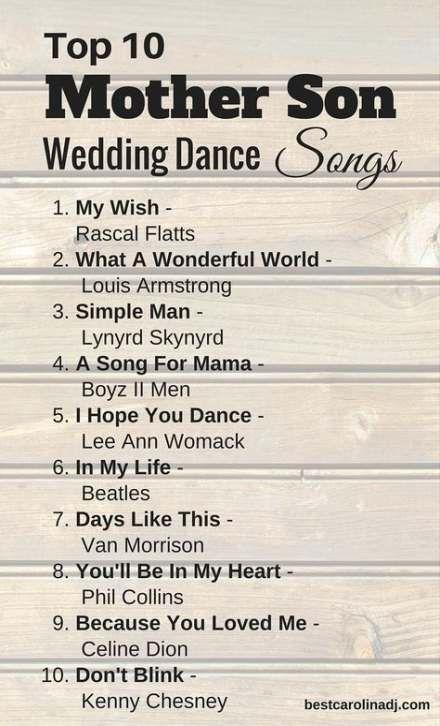 Wedding Songs Mother Son Beautiful 32 Trendy Ideas Mother Son Dance Songs Mother Son Wedding Dance Wedding Dance Songs