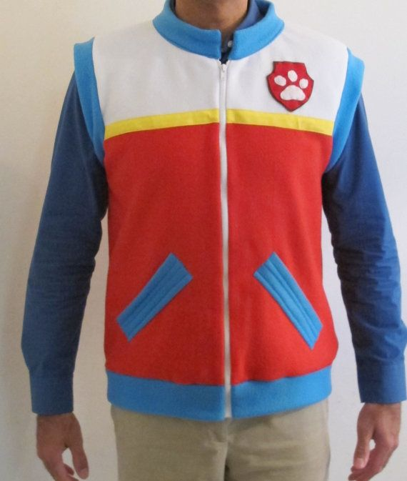 ADULT Paw Patrol inspired Ryder Costume Vests 084iMulw5