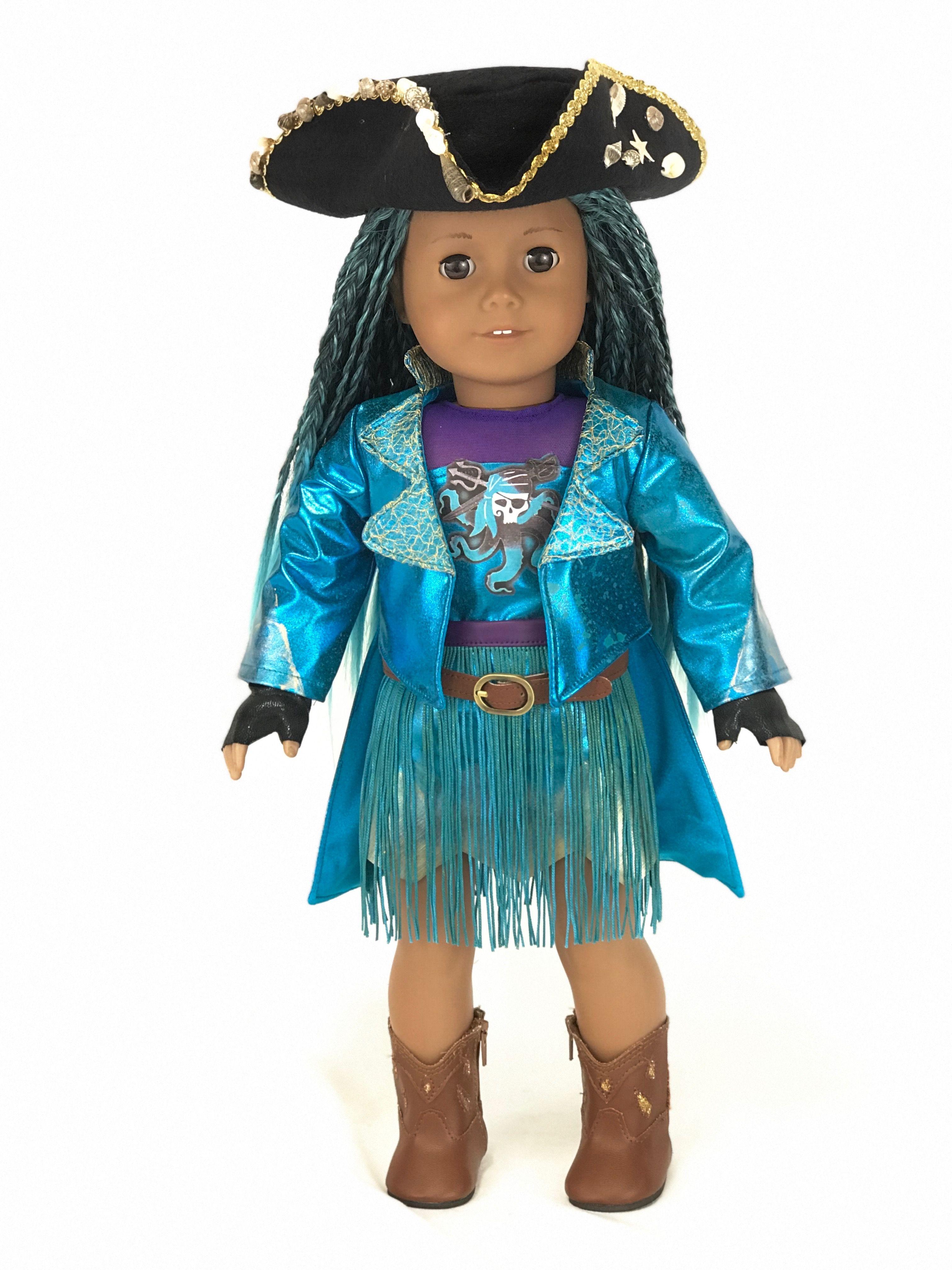 03dd628089 Descendants Uma outfit for American Girl Doll | agd halloween ...