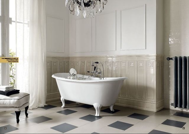 Bagno Boiserie ~ My new old life my new old house bagno padronale bagno roma