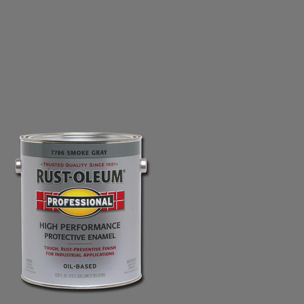 Rust-Oleum Professional 1 Gal. High Performance Protective Enamel Gloss Aluminum Oil-Based Interior/exterior Paint (2-Pack), Silver Rust-Oleum Professional 1 gal. High Performance Protective Enamel Gloss Aluminum Oil-Based Interior/Exterior Paint (2-Pack), Silver Oil Painting oil based enamel paint