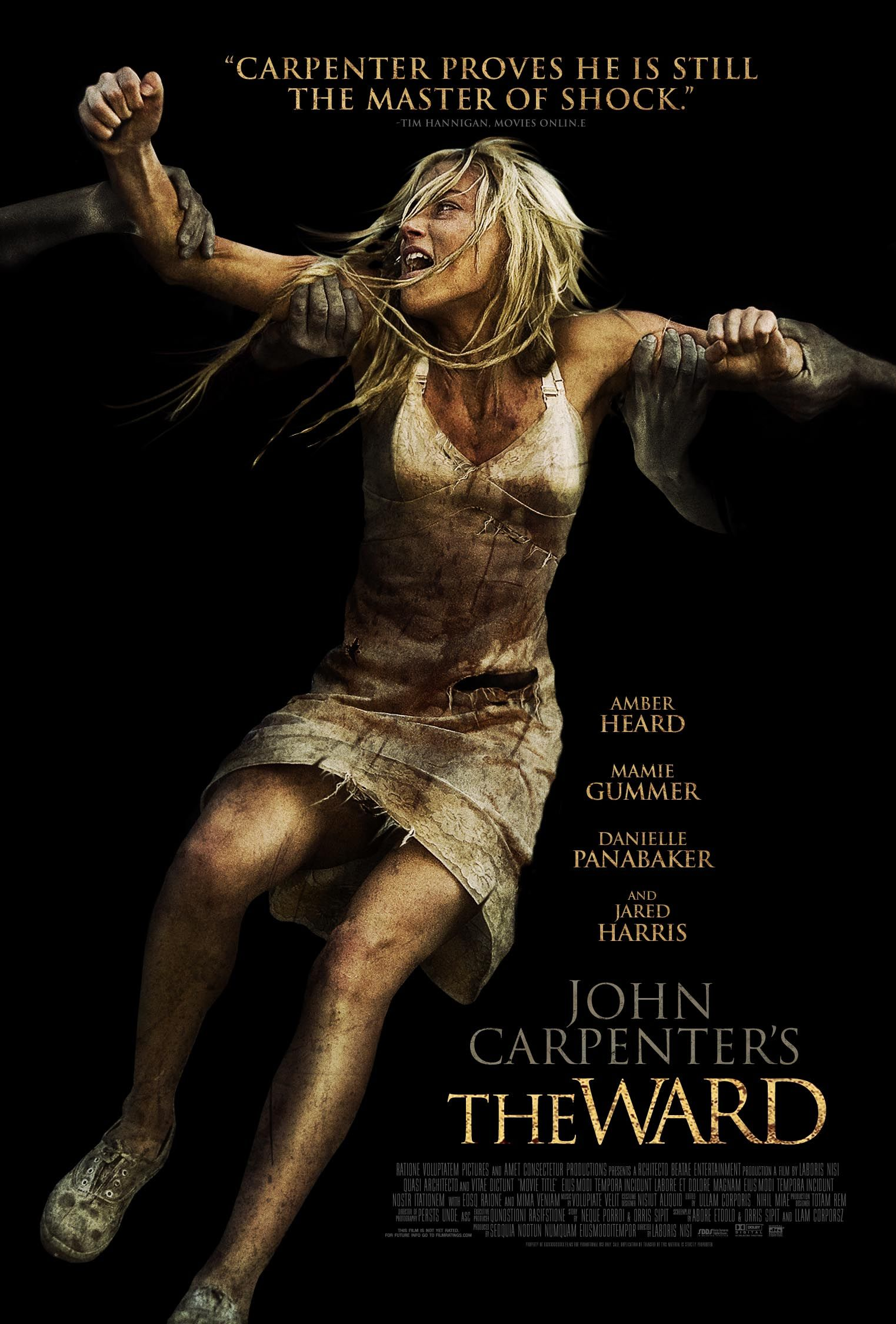 The Ward (in theater) Bei film