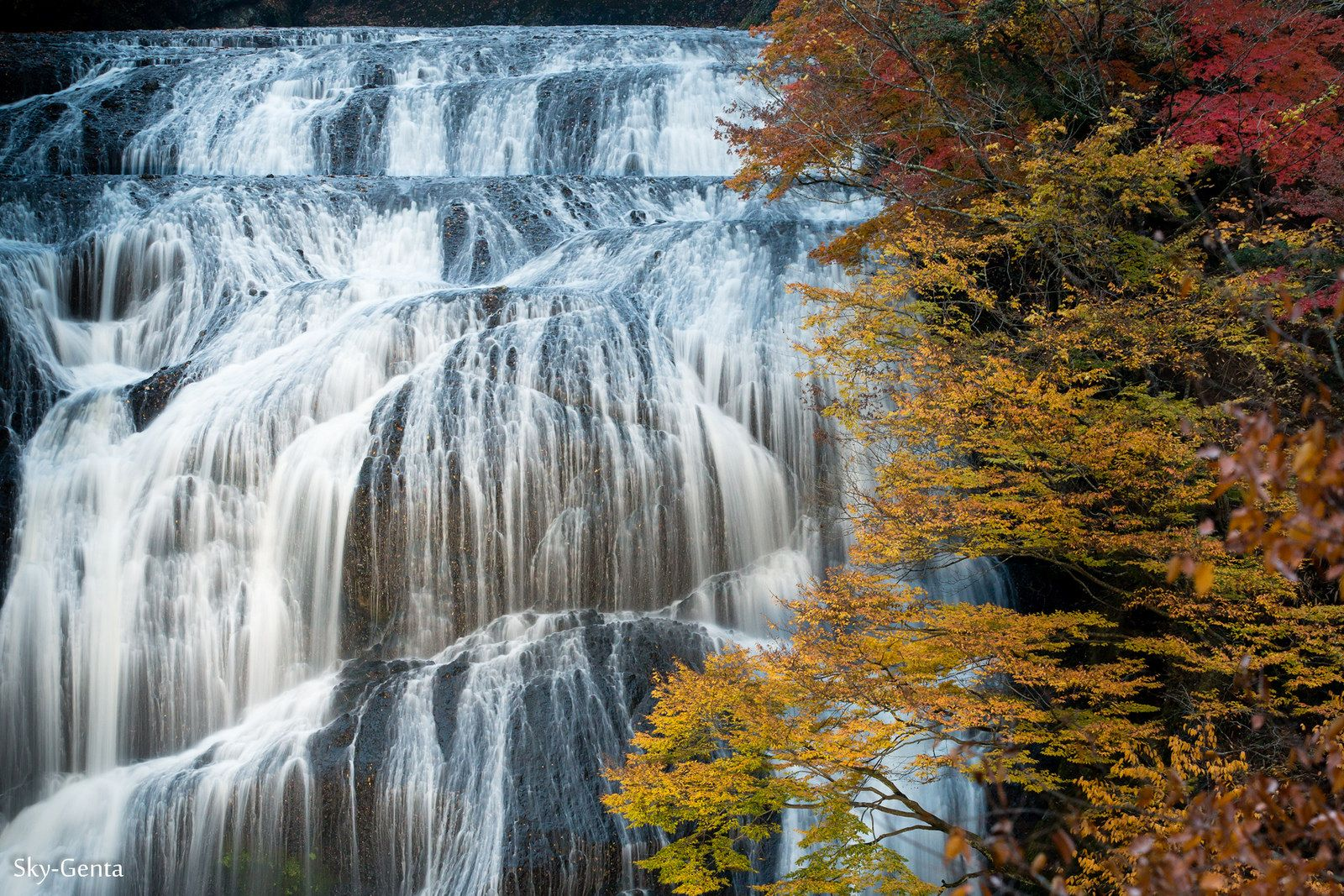 https://flic.kr/p/AJBkzh | Fukuroda falls | 袋田の滝 茨城県大子町
