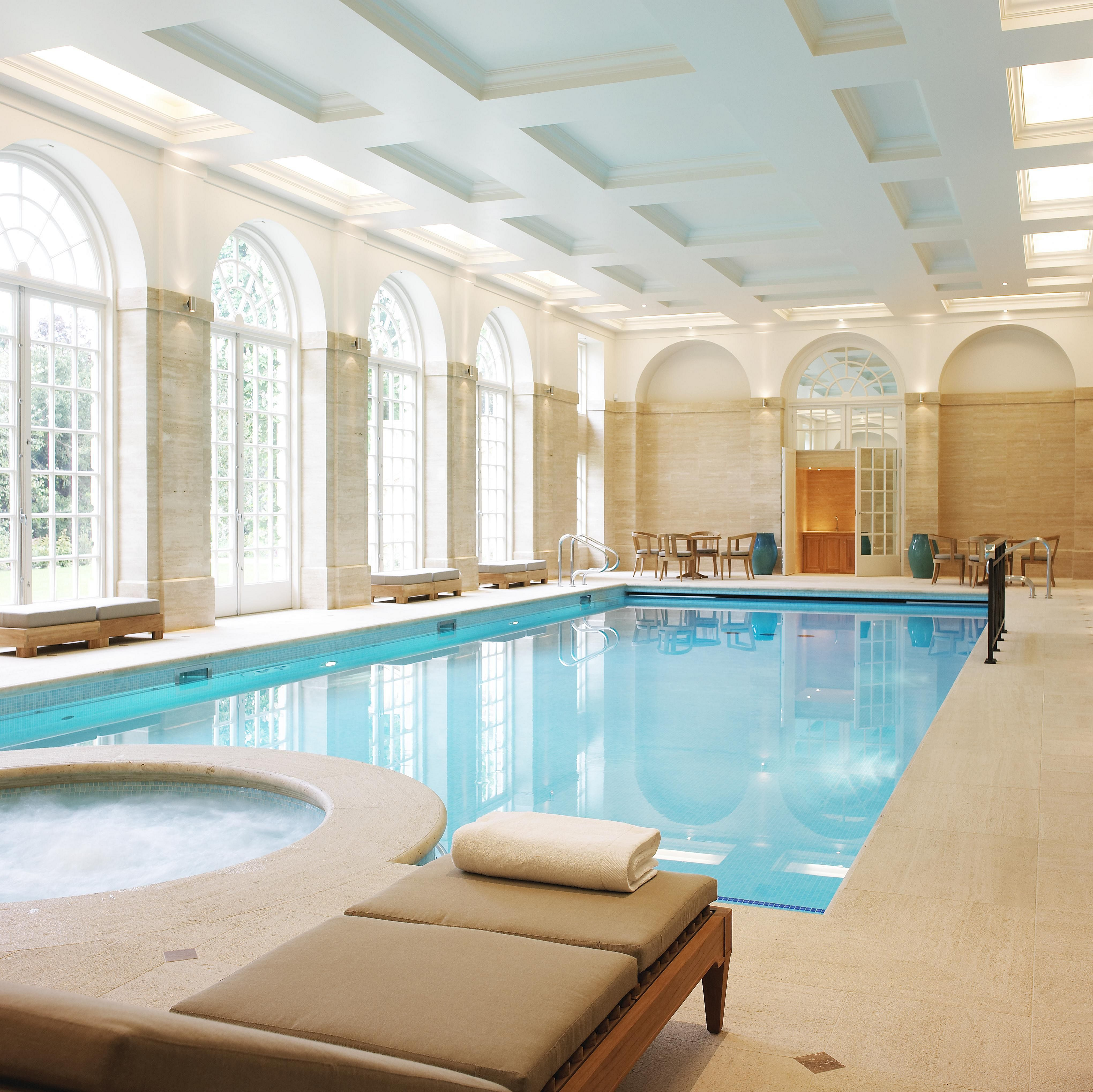 30 Incredible Indoor Swimming Pool Design For Comfortable Swim