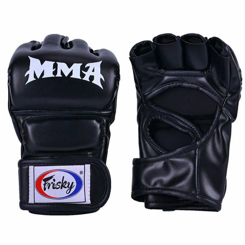 Punching Gloves Fight Punching Bag New Leather Boxing