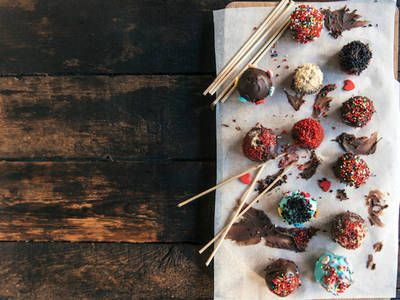 Copycat Starbucks Chocolate Cake Pops Cookies Bars Candy