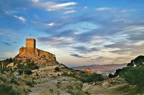 Foto panor mica del castillo de lorca murcia spain - Lorca murcia fotos ...