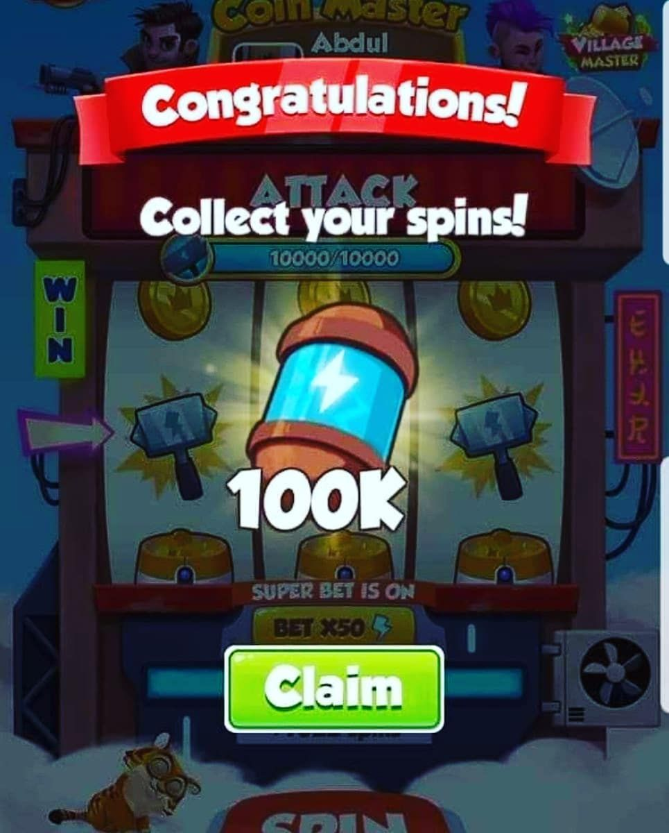 get spins on coin master