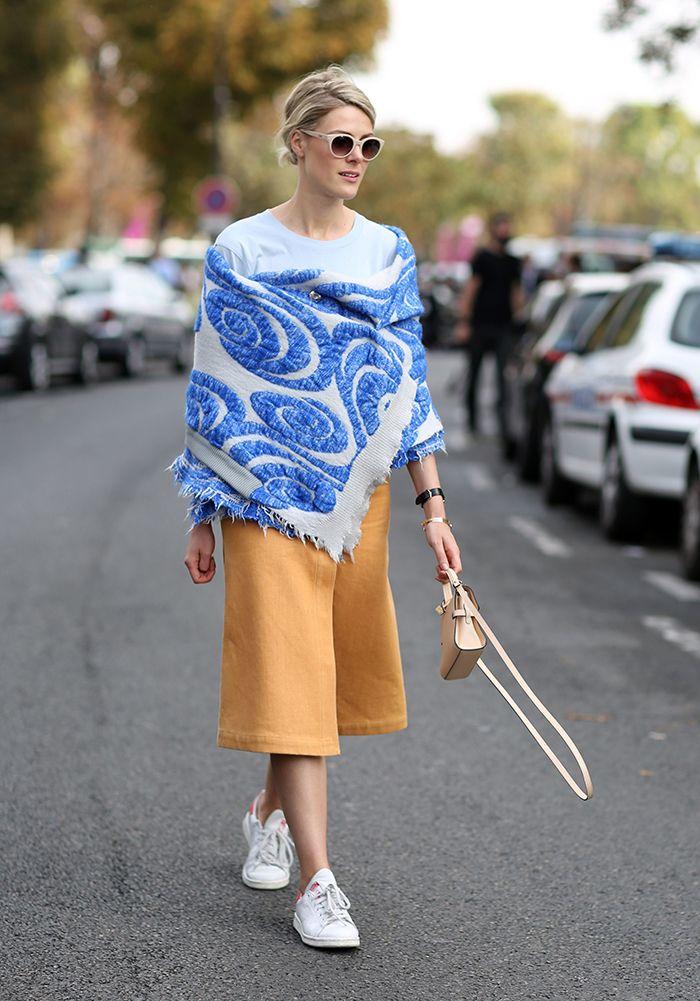 Street Style, Spring Summer 2015, Paris Fashion Week, France - 29 Sep 2014
