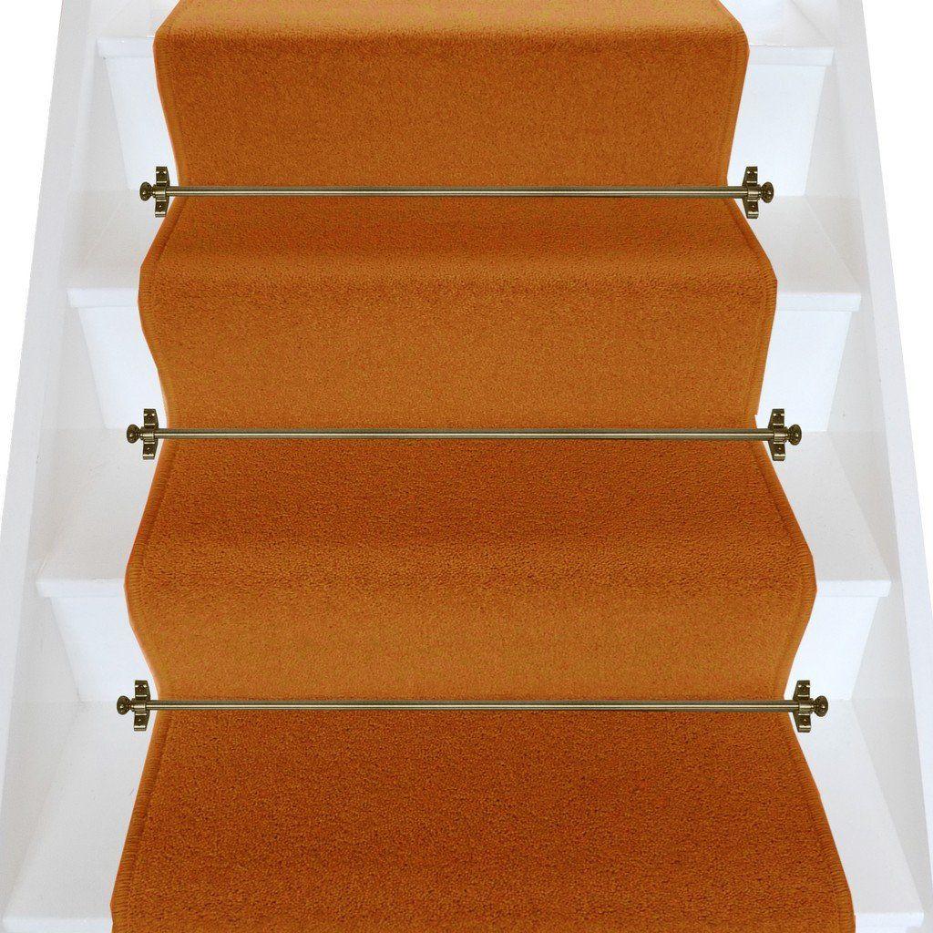 Best Axminster Carpets Devonia Plain Clay P*T Stair Runner Per 400 x 300