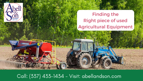 Get high quality used farm and farming equipment