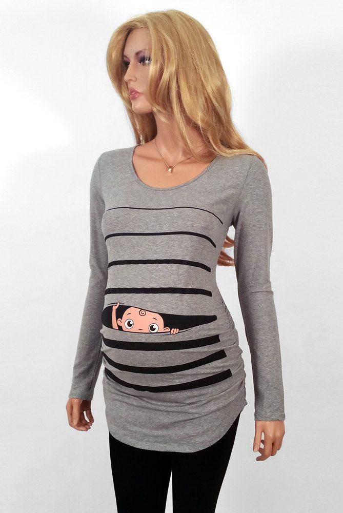 303b67ccd Maternidad maternidad camisa camisas de por CutsieTootsieApparel … Ropa De  Maternidad, Sublimados, Embarazo,