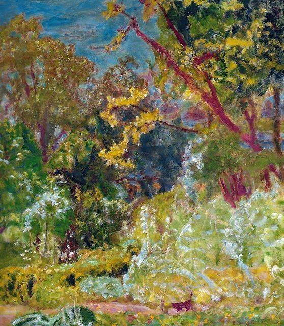ALONGTIMEALONEPierre Bonnard - Sunlight, 1923 at Museo Thyssen - peinture porte et fenetre