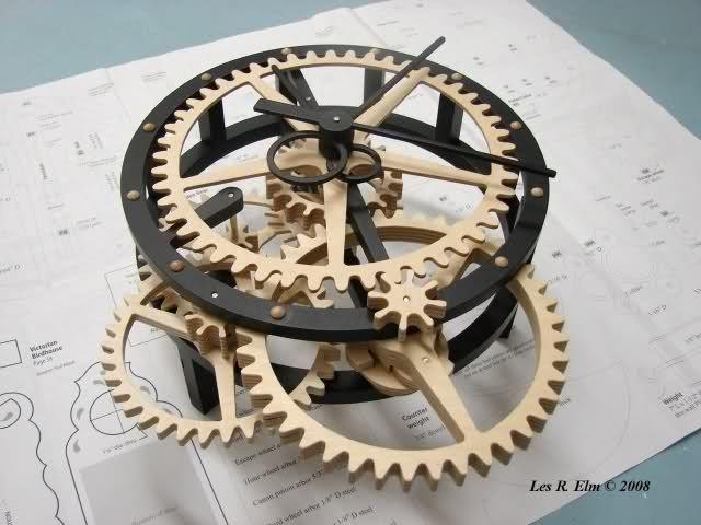 diy wooden clock plans