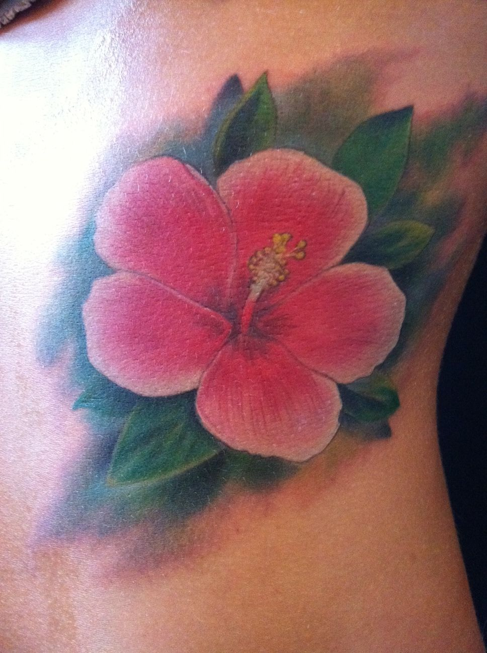 Hawaiian Tatoos Greek Tattoo Designs Hibiscus Flower Tattoos