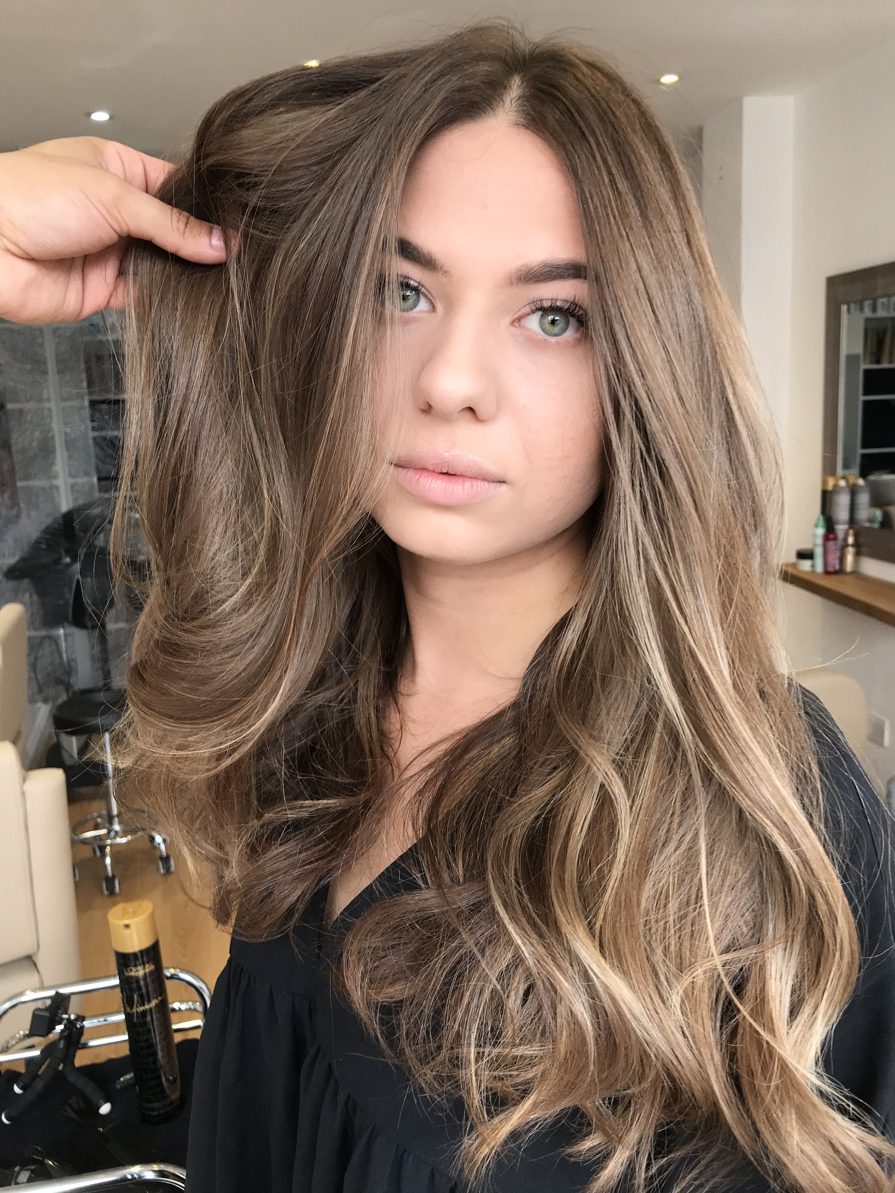 Brunette Balayage By Alisson Costa Look Natural And Modern