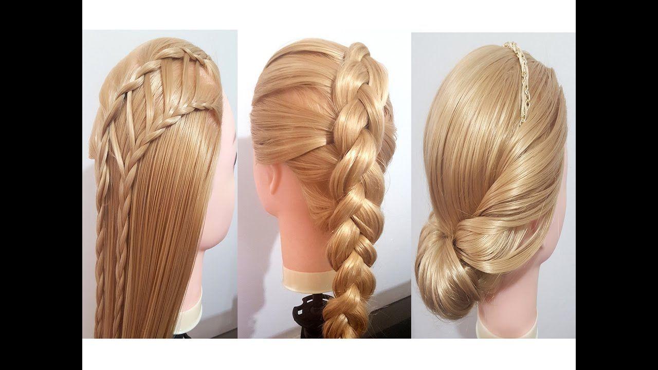 5 peinados faciles y rapidos con trenzas para cabello - Peinados recogidos con trenzas ...