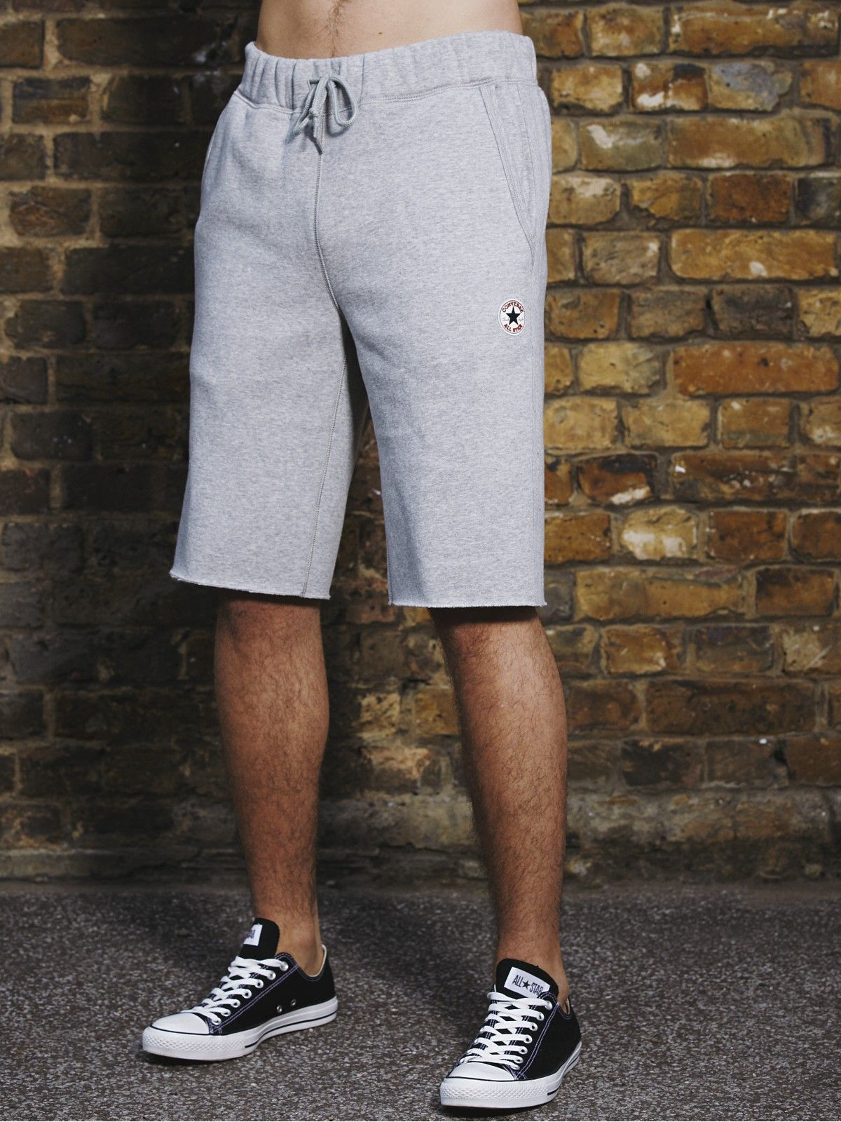Grey Converse Mens Sweat Shorts | Sweats | Pinterest